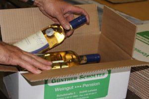 Weingut Scholtes Wie wir arbeiten Vermarktung Kartons